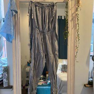 Boujee Striped Jumpsuit